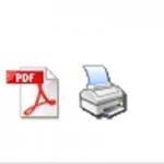 print-und pdf-Button