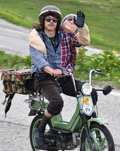 Mopedrennen in Österreich